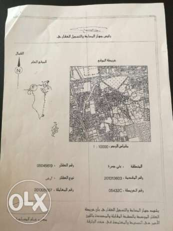 For Sale Land In Bani Jamrah