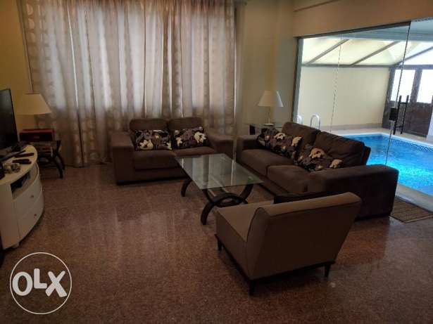2 Bedroom fully furnished modern villa flat with private pool - inclu