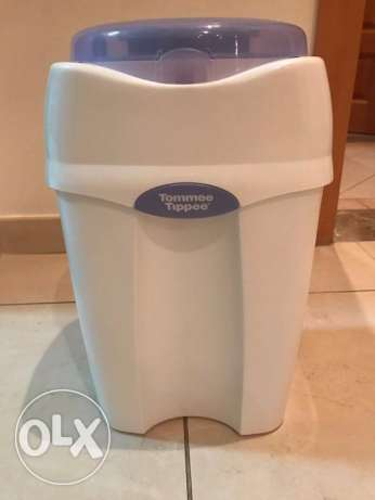 Tommee Tippee Diaper Pail, White