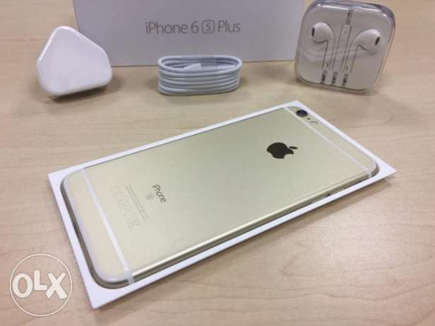Boxed Gold Apple iPhone 6s Plus 16GB Factory Unlocked