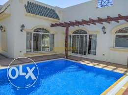 Hamala 4 Bedroom semi furnished villa with pool,garden - inclusive