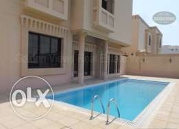 5 Bedroom semi furnished villa for rent with private pool,sea view