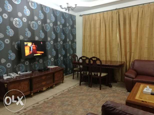 Juffair - 2 Bedroom Fully Furnished Flat for Rent (inclusive)