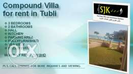 Compound Villa for rent in Tubli