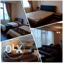 Luxury Fully Furnished flat um al Hassam