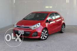Kia Rio HB 2016 Red For Sale ()