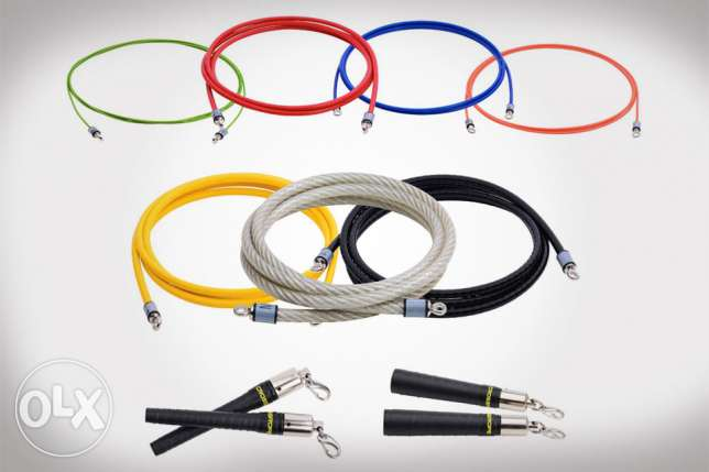 Crossrope 2.0 Weighted Jump Rope Set (x6 ropes)