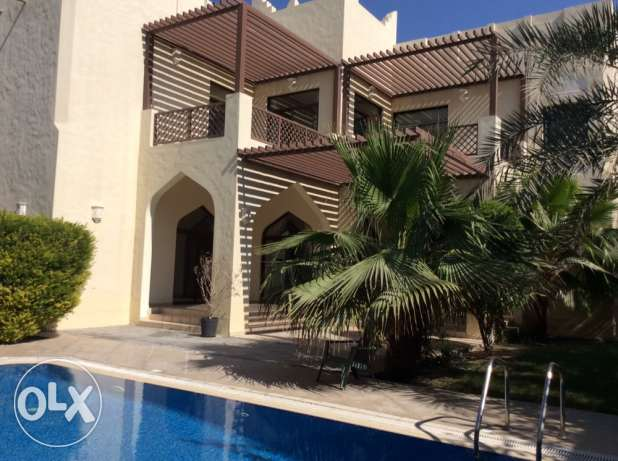 6 bedroom compound villa with private pool at Jasra