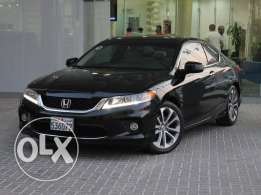 Honda Accord Coupe V6 35EX 2DR Auto With Navg 2015 Black For Sale