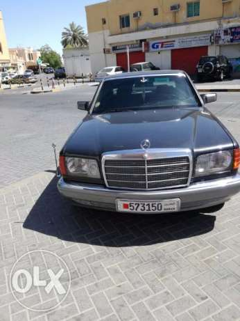 mercedes S500 dark gray color model 1999
