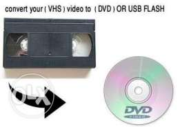 Save your old memory Convert VHS cassete to dvd or USB/mini DV to dvd