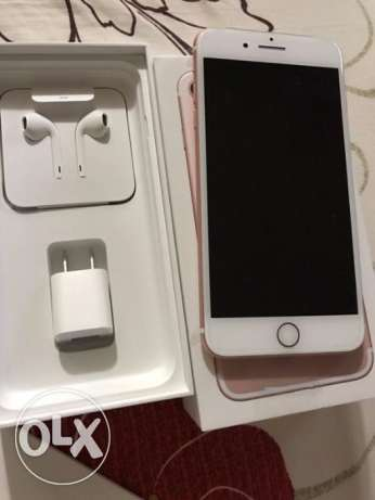 iPhone 7plus gold 32gb