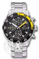 IWC watch aquatimer chronograph