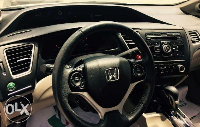 Honda Civic, 2015 with Excellence Package