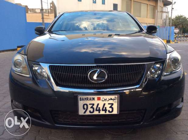 For Sale 2008 Lexus GS300 Single Owner Only 57000Km Bahrain Agency