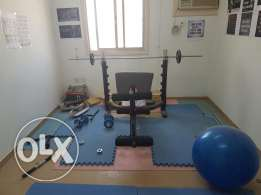 Complete home gym equipments