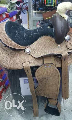 Western saddle pony