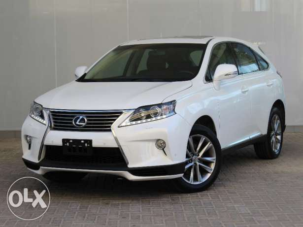 Lexus RX350 White 2014 For Sale