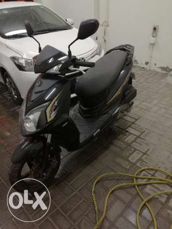 ssangyong scooter 1800 km driven ONLY