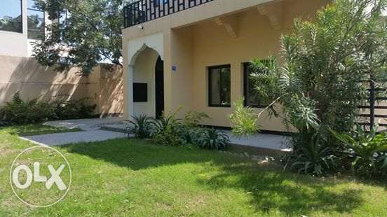 semi furnished villa with huge garden inclusive