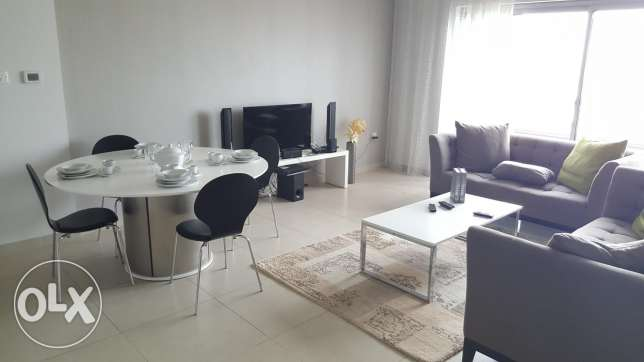 New hidd two BR Aprt; semi furnished