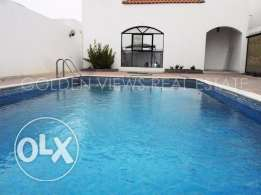 3 Bedroom semi furnished villa with privates swimming pool - inclusiv