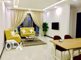 Brand new Two bedrooms with Maids room apartment in Janabiya.