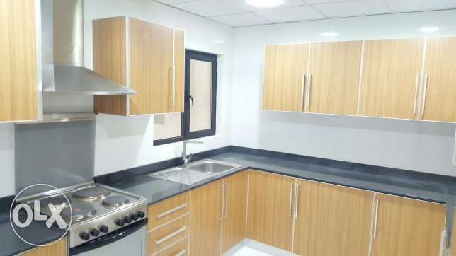 Spacious three BHK flat Semi furnished