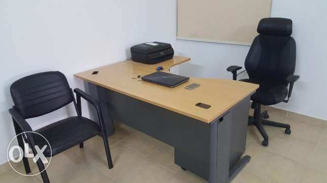 Office Table+ Executive Chair+Guest Chair..Almost New Condition