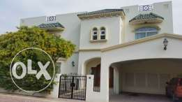 semi furnished compound villa close to KSA2000