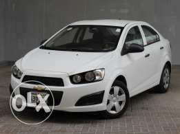 Chevrolet Sonic 1.6L Base Sedan with ABS 2013 White For Sale