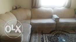 Sofa set for sale 07 seater - 35BD