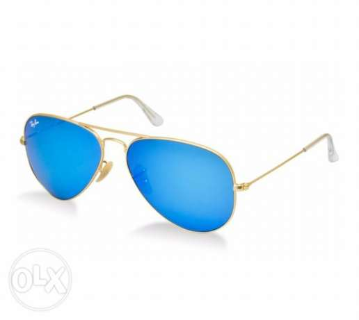 ray ban new original unisex sunglasses blue lens for sale