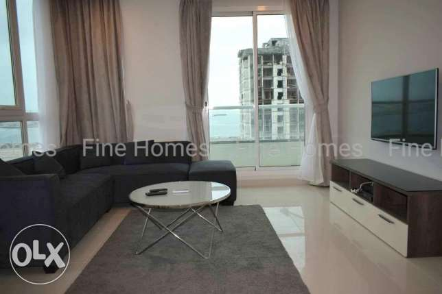 Elegant Furnished Apartment with Sea View At Hidd (Ref No: 33HDSH)