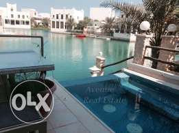 Amwaj: Waterfront Amazing Villa for rent in Floating City!