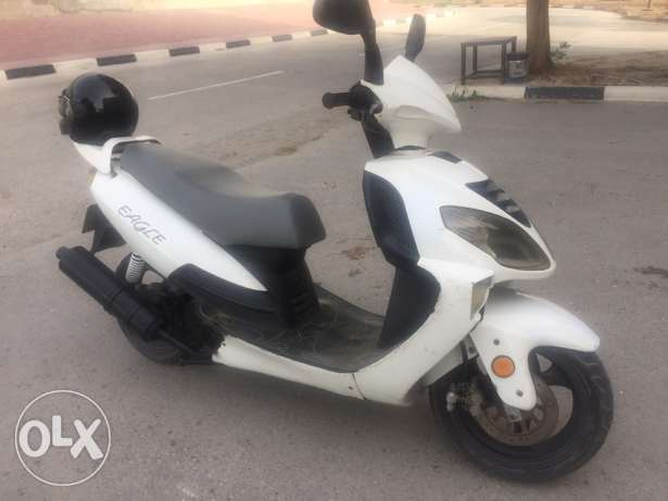 scooter 150cc model 2012