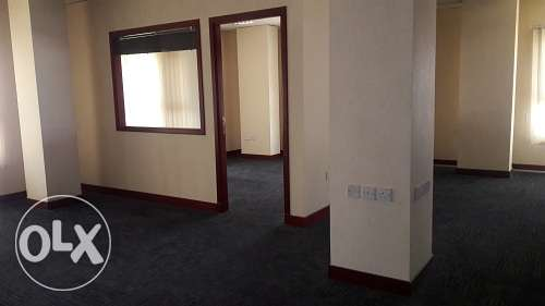 office space with built-in partion 200m2 in Seef area BD. 800/-