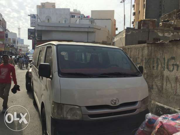 Toyota Hiace Mini Bus For Rent Model 2010