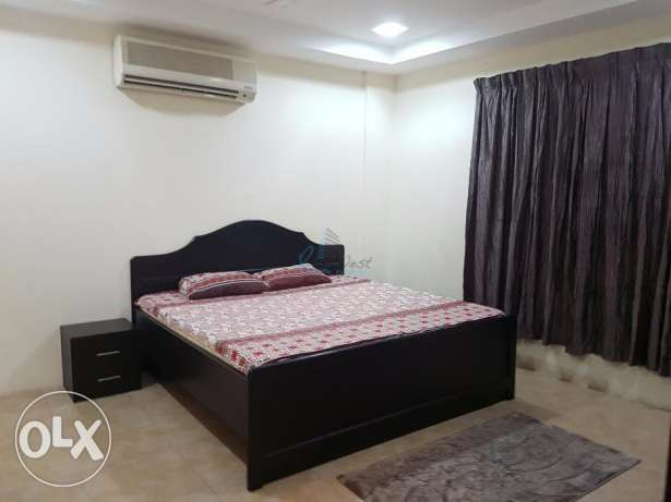 Furnished two-bedroom apartment for rent at Adliya العدلية -  6
