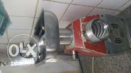 Freezer and mincer machine for sale