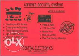 Cctv With Fixing