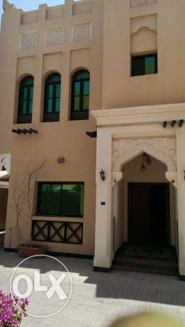 Jasra: 3 Bedroom plus maid room semi furnished compound villa for rent