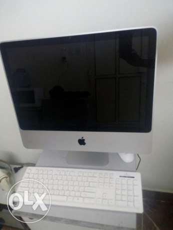"Apple I mac 20"" for sale in excellent condition"