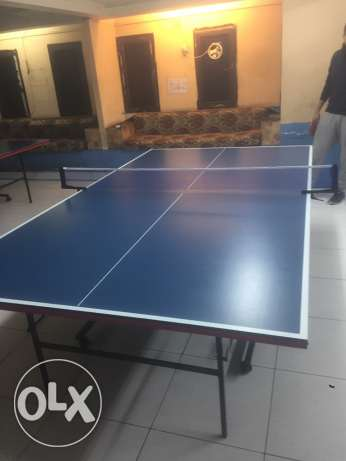 Table tennis for sale with accessories Price 50 BD