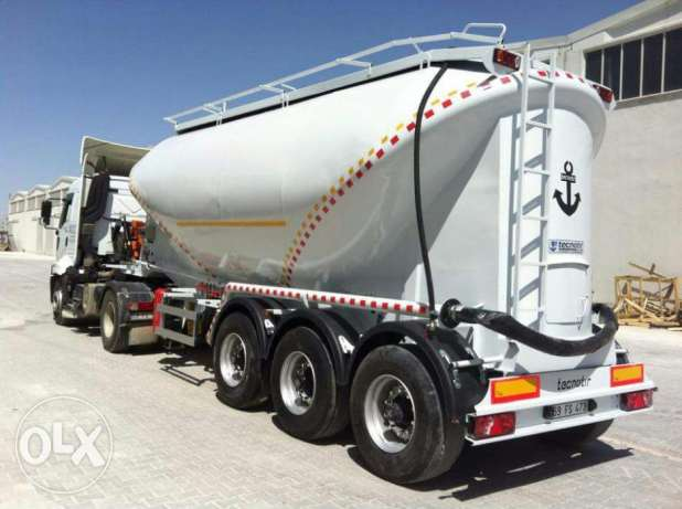 all types of cement tanker with warranty with branded parts made turky