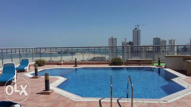 Sea view 3 BR in Juffer with Balcony
