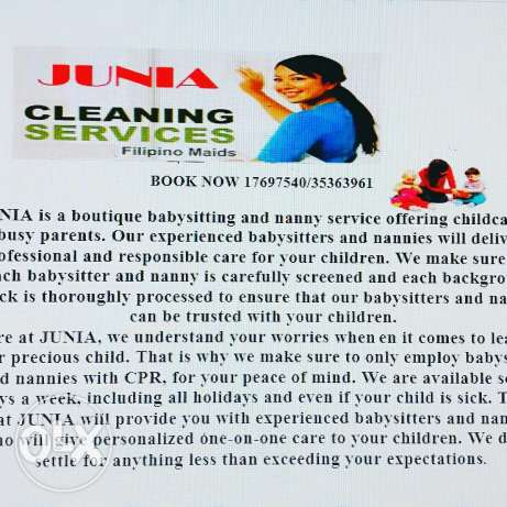 housemaid stay in or baby sitter