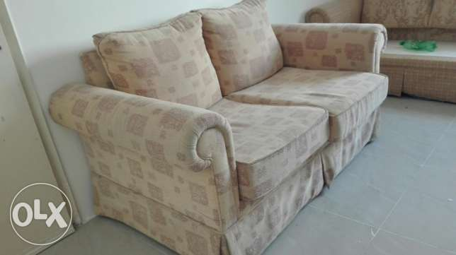 Urgent sale 3seater + 2seater + tea table in excellent condition
