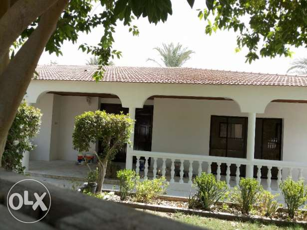 4 bedroom semi furnished single story villa for rent