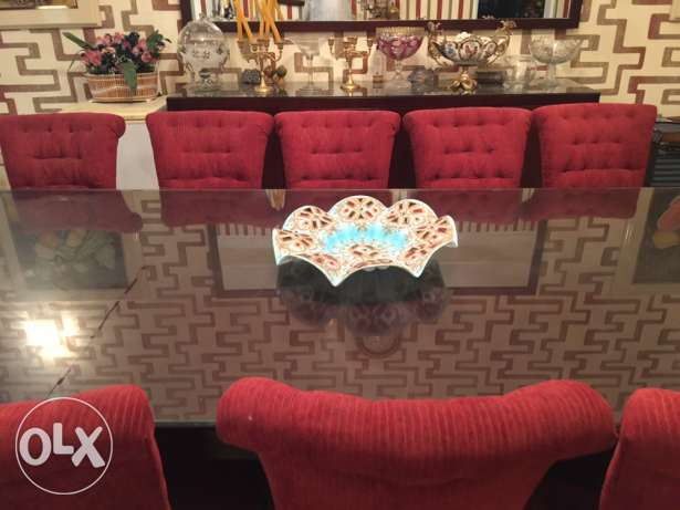 Deluxe 12 Seat Luxury Dining Table